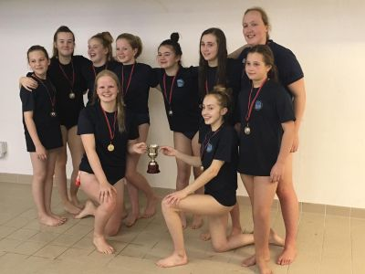DWPC U16 Girls - Winners of KKASC Tournament at Tollcross